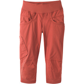 Prana Kanab Pantalones por debajo la rodilla Mujer, patina red